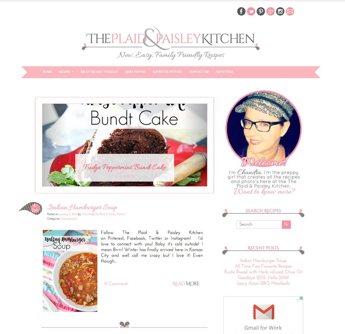 The Plaid & Paisley Kitchen Blog