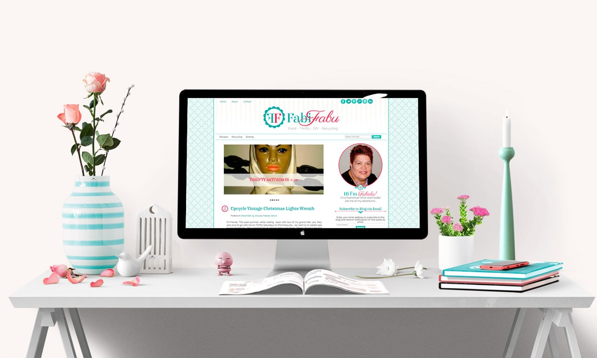FabiFabu Cute Blog Design