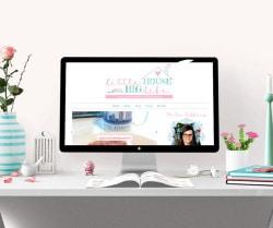 Little House Big Life Blog Design