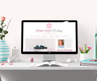 Recipes, Food & Cooking Blog Design