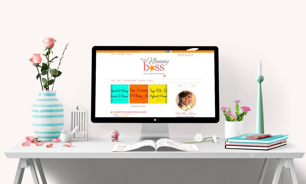 The Nanny Boss Blog Design