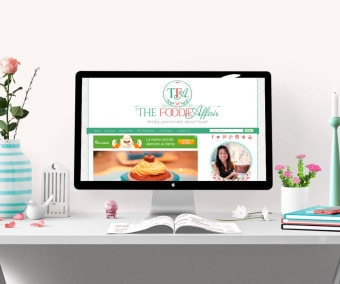 The Foodie Affair Blog Design