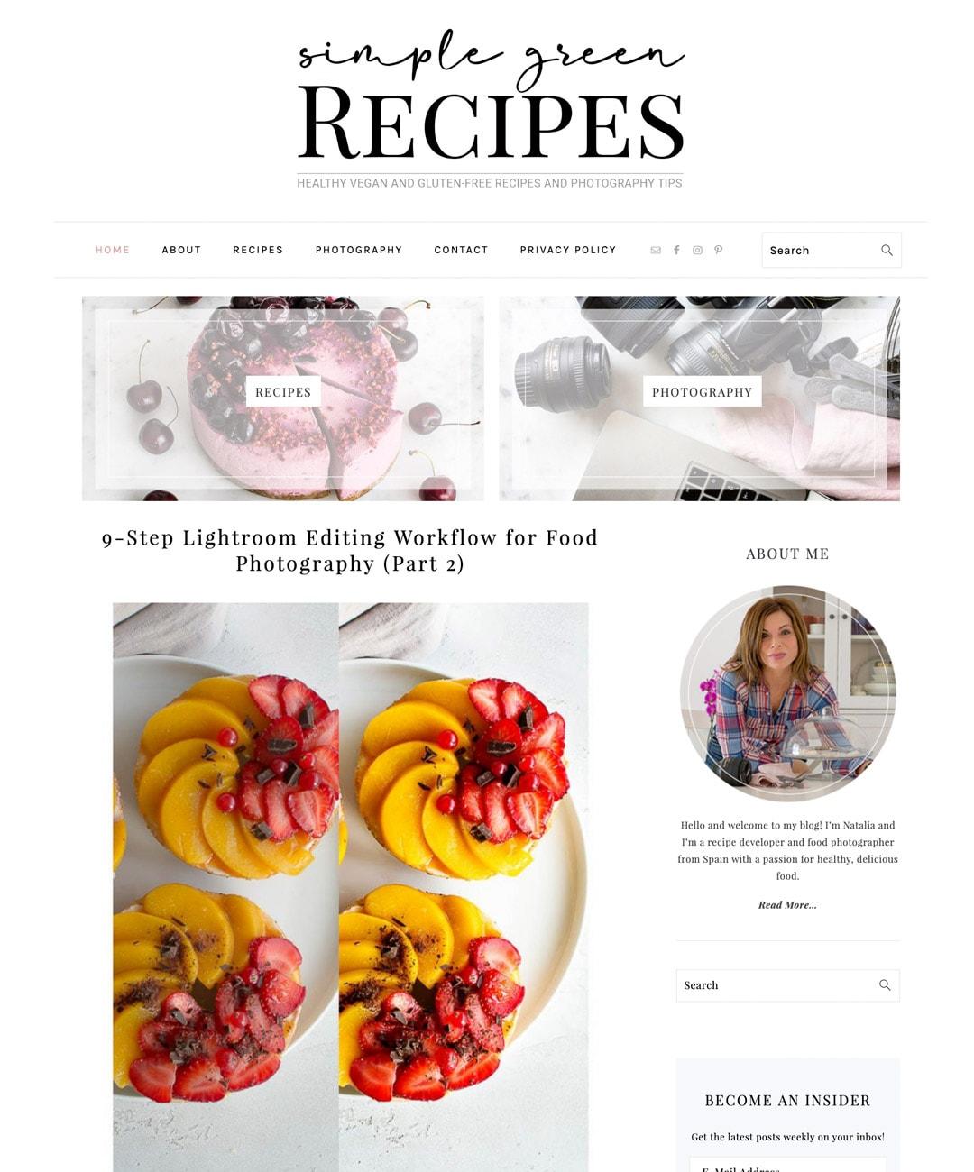 Simple Green Recipes 2019