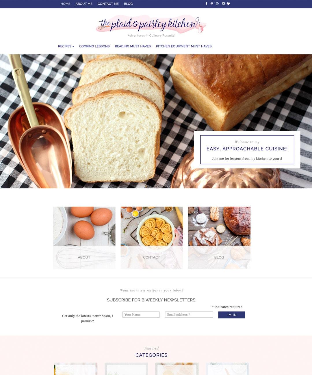The Plaid & Paisley Kitchen 2018