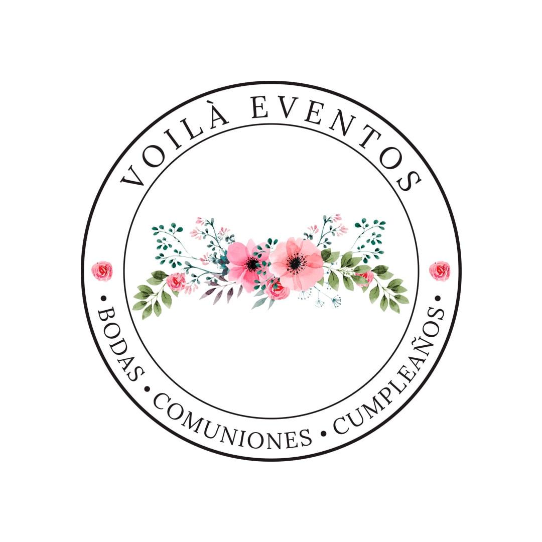 Voilà Eventos Logo Badge