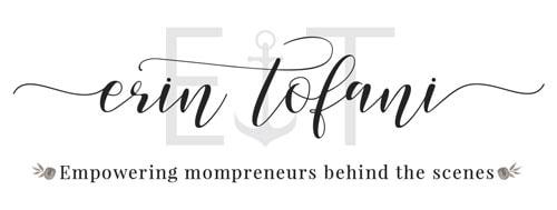 Erin Tofani Main Logo Monochromatic