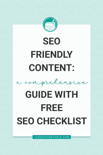SEO Friendly Content A Comprehensive Guide plus SEO Checklist