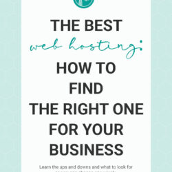 Best Web Hosting: How to Find the right one for your business