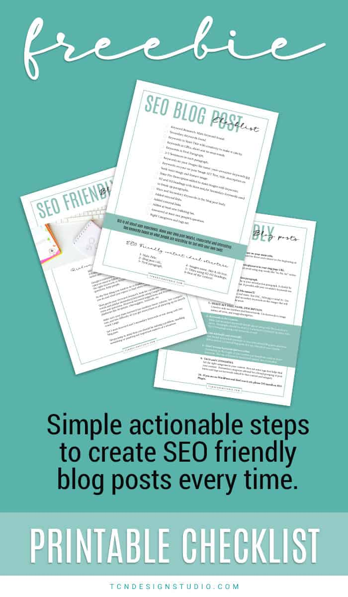 Create SEO Friendly Posts Every Time