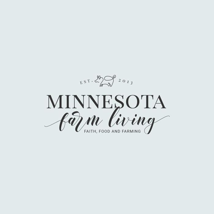 Minnesota Farm Living Main Logo Design 2019