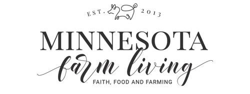 Minnesota Farm Living Main Logo Monochromatic