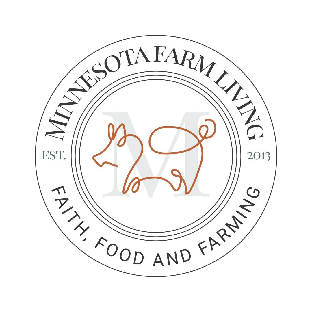 Minnesota Farm Living Logo Badge 2019