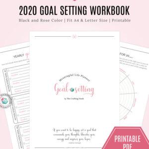 Meaningful Life Planner Goal Settings