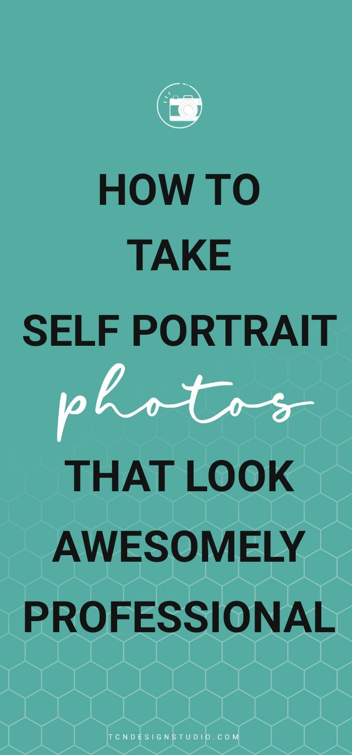 Learn how to take awesome looking self portrait photos by yourself
