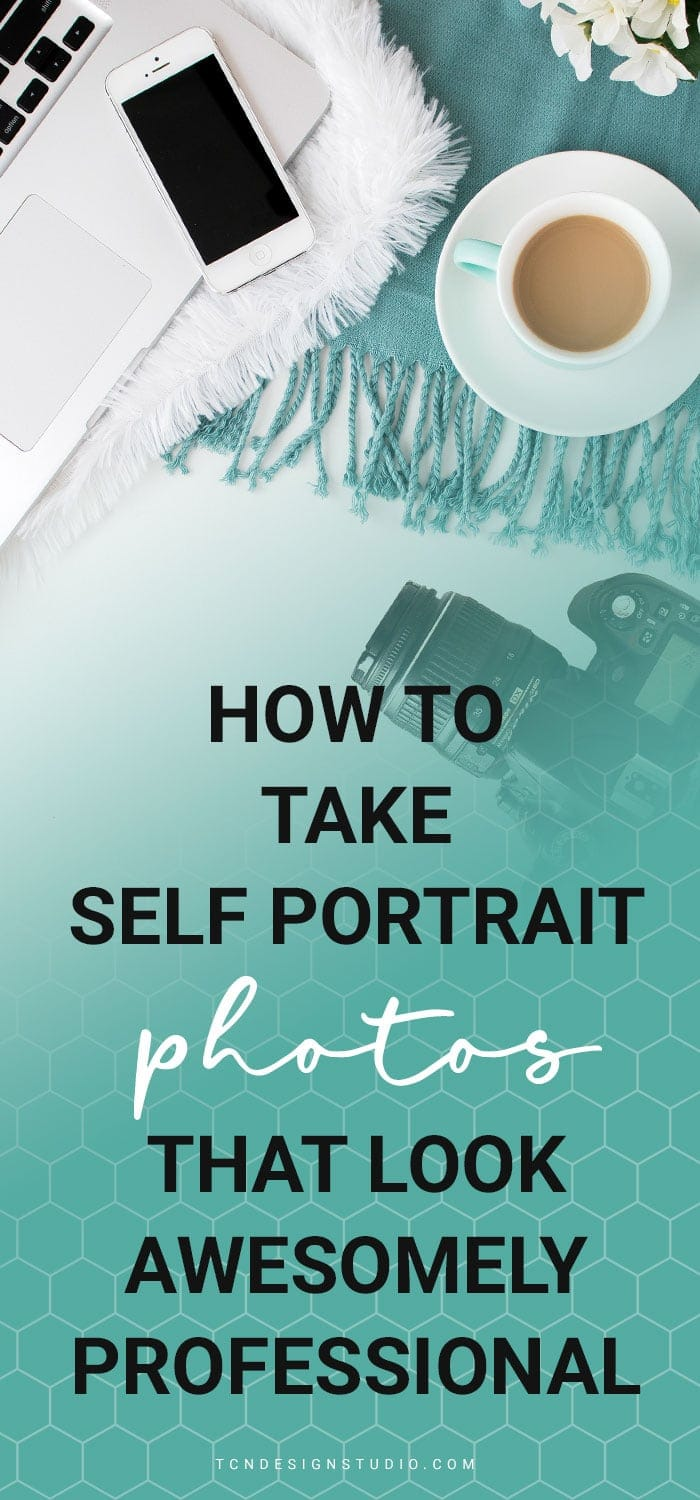 Learn how to take professional looking self portrait photos by yourself