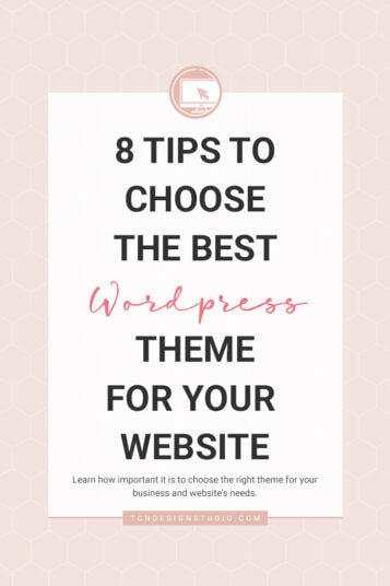 8 Tips to Choose the Best WordPress Theme
