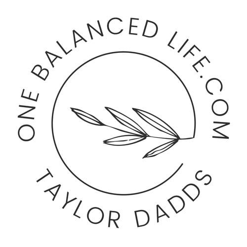 One Balanced Life Submark Logo Monochromatic