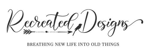 Recreated Designs Main Logo Monochromatic