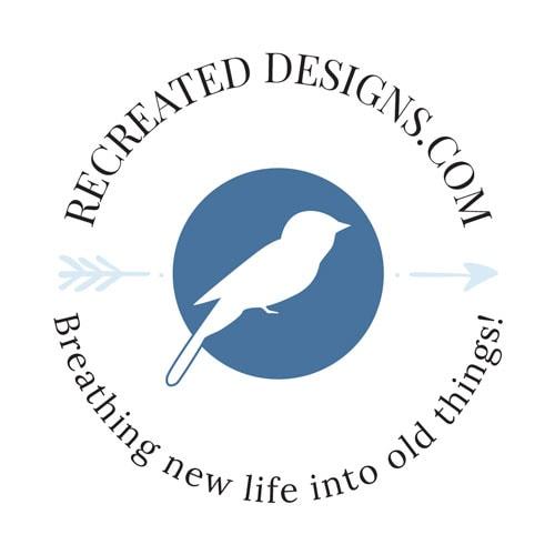 Recreated Designs Submark Logo Full