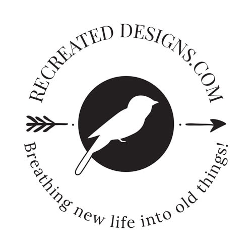 Recreated Designs Submark Logo Monochromatic