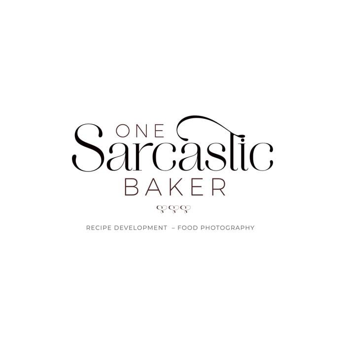 One Sarcastic Baker Main Logo 2021 Color