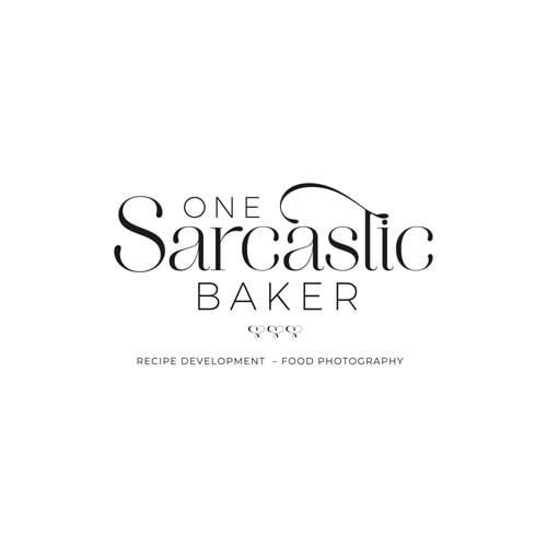 One Sarcastic Baker Main Logo 2021 Monochromatic